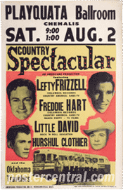 lefty frizzell concert poster