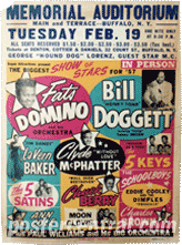 Biggest show star 1957 concert poster