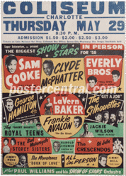 biggest show star 1958 poster