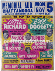 Little Richard concert poster