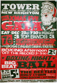 the Beetles  Xmas eve gala poster