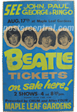 Beatle Tickets on sale here poster