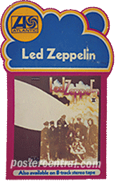 led Zeppelin promo poster