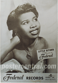 little Esther promo poster