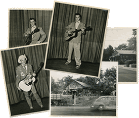 elvis, presley, ferlin Huskey vintage photos