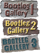 Bootleg gallery 1 bootleg gallery 2, bootleg gallery3 signs