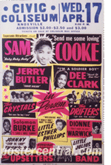Sam Cooke, Jerry Butler, Dee Clark and others