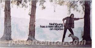 Neil Young has a new album poster