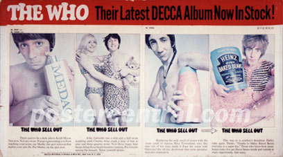 The Who sell out promo poster