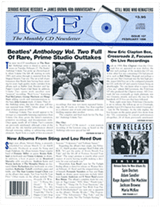 ICE monthly CD newsletter